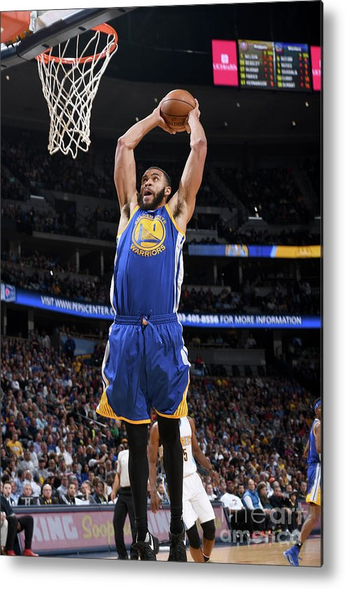 Nba Pro Basketball Metal Print featuring the photograph Javale Mcgee by Garrett Ellwood