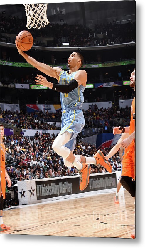 Event Metal Print featuring the photograph Jayson Tatum by Andrew D. Bernstein