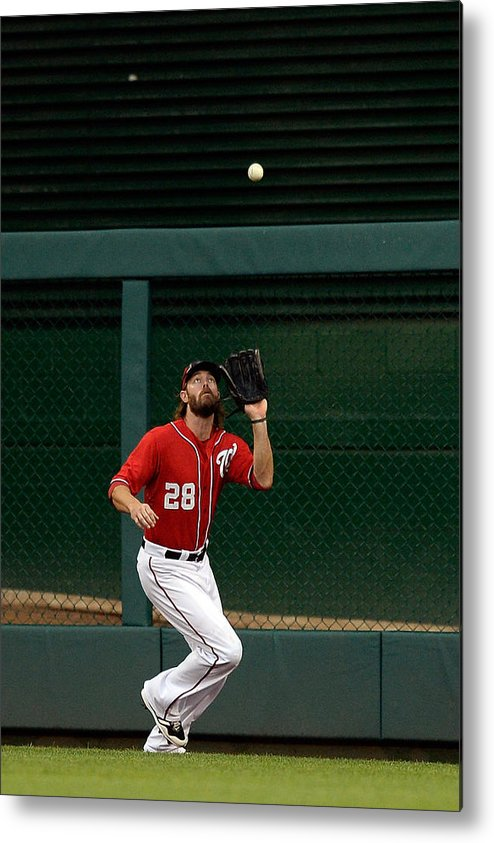 Ninth Inning Metal Print featuring the photograph Jayson Werth and David Wright by Patrick Mcdermott