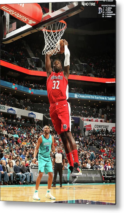 Nba Pro Basketball Metal Print featuring the photograph Jeff Green by Kent Smith