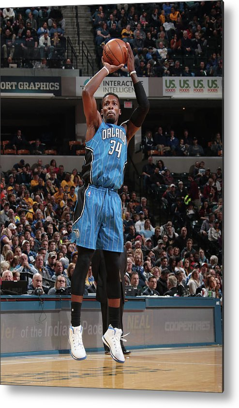Nba Pro Basketball Metal Print featuring the photograph Jeff Green by Ron Hoskins