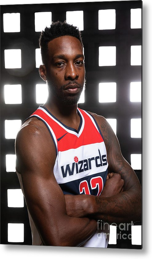 Media Day Metal Print featuring the photograph Jeff Green by Stephen Gosling