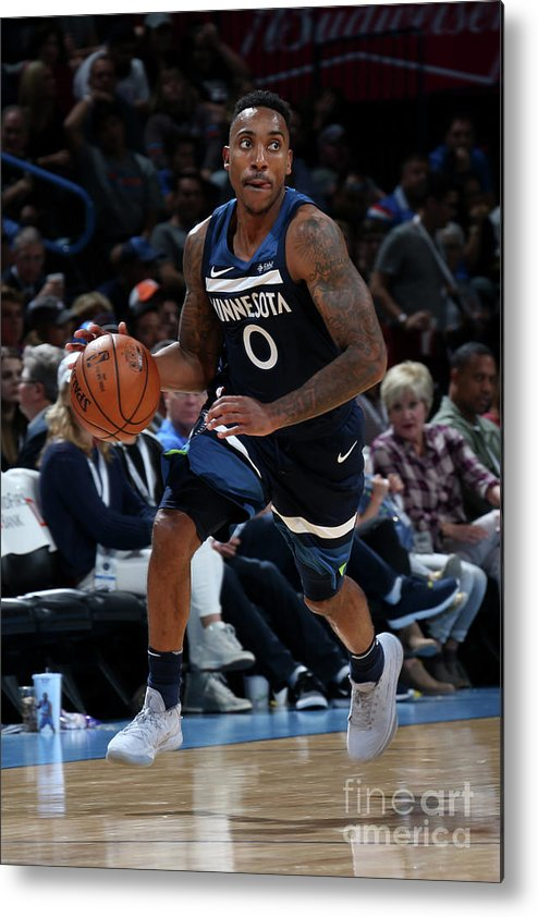 Nba Pro Basketball Metal Print featuring the photograph Jeff Teague by Layne Murdoch
