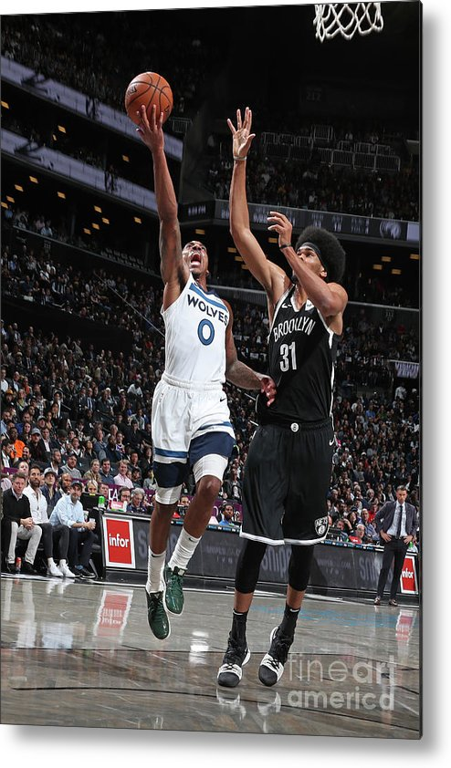 Nba Pro Basketball Metal Print featuring the photograph Jeff Teague by Nathaniel S. Butler