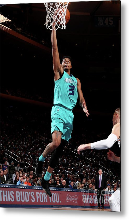 Nba Pro Basketball Metal Print featuring the photograph Jeremy Lamb by Nathaniel S. Butler