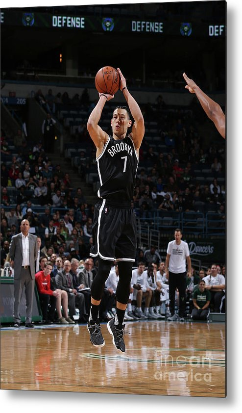 Number 7 Metal Print featuring the photograph Jeremy Lin by Gary Dineen