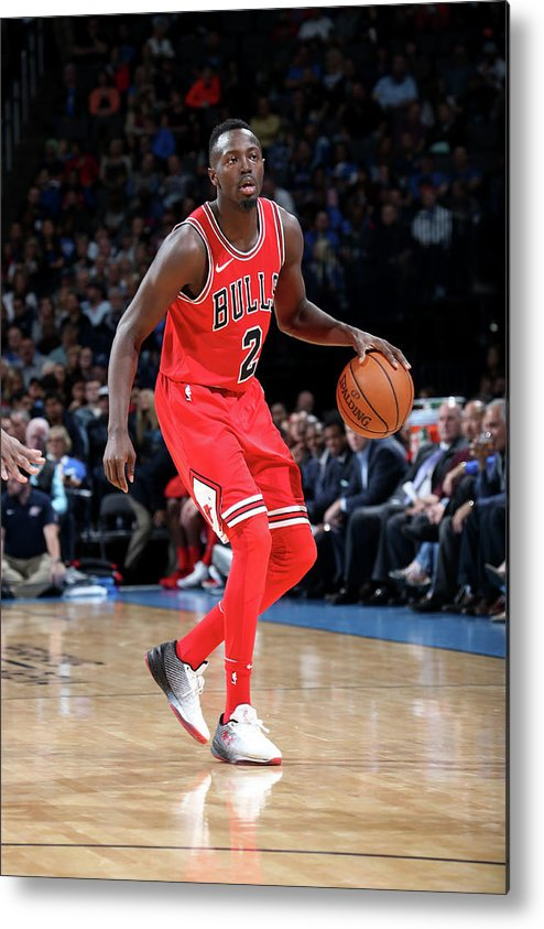 Nba Pro Basketball Metal Print featuring the photograph Jerian Grant by Layne Murdoch