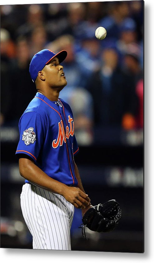 Three Quarter Length Metal Print featuring the photograph Jeurys Familia by Elsa