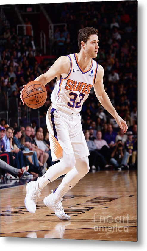 Nba Pro Basketball Metal Print featuring the photograph Jimmer Fredette by Michael Gonzales