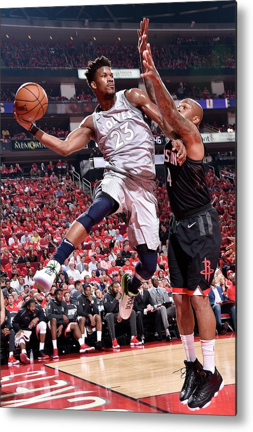 Playoffs Metal Print featuring the photograph Jimmy Butler by Bill Baptist