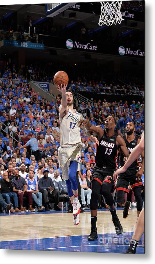 Playoffs Metal Print featuring the photograph J.j. Redick by David Dow