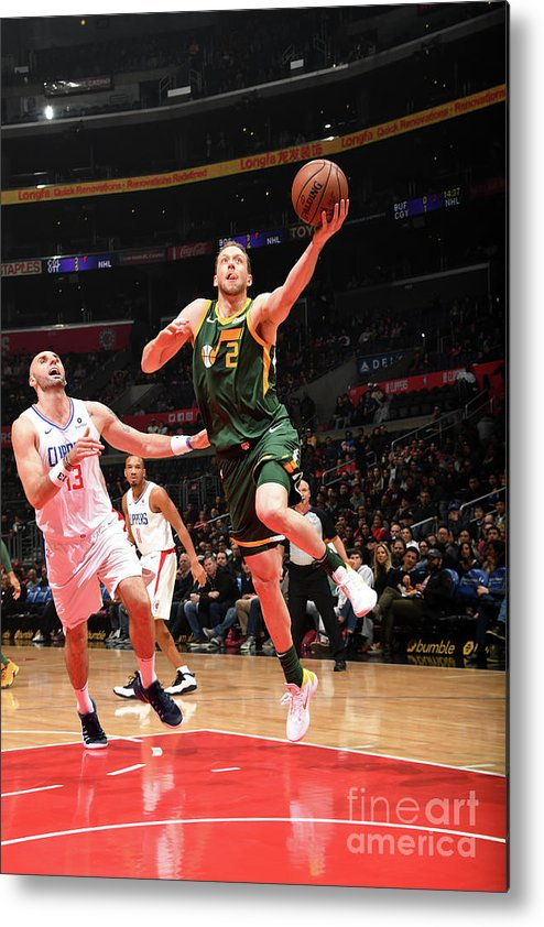 Nba Pro Basketball Metal Print featuring the photograph Joe Ingles by Andrew D. Bernstein
