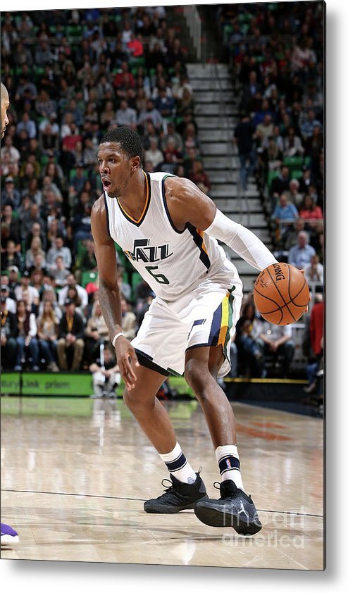 Nba Pro Basketball Metal Print featuring the photograph Joe Johnson by Melissa Majchrzak