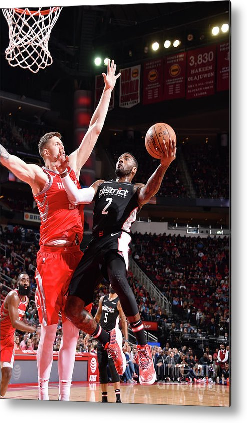Nba Pro Basketball Metal Print featuring the photograph John Wall by Bill Baptist