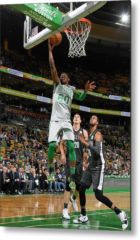 Basketball Team Metal Print featuring the photograph Jonathan Gibson by Brian Babineau