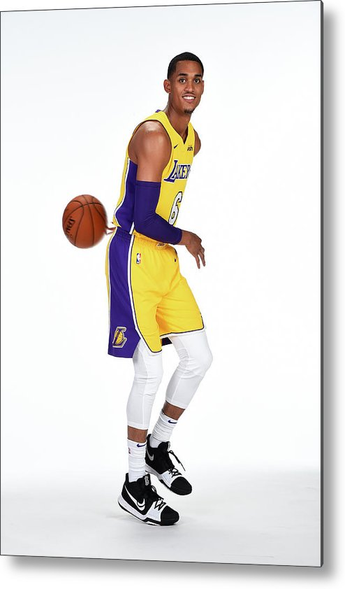 Media Day Metal Print featuring the photograph Jordan Clarkson by Andrew D. Bernstein