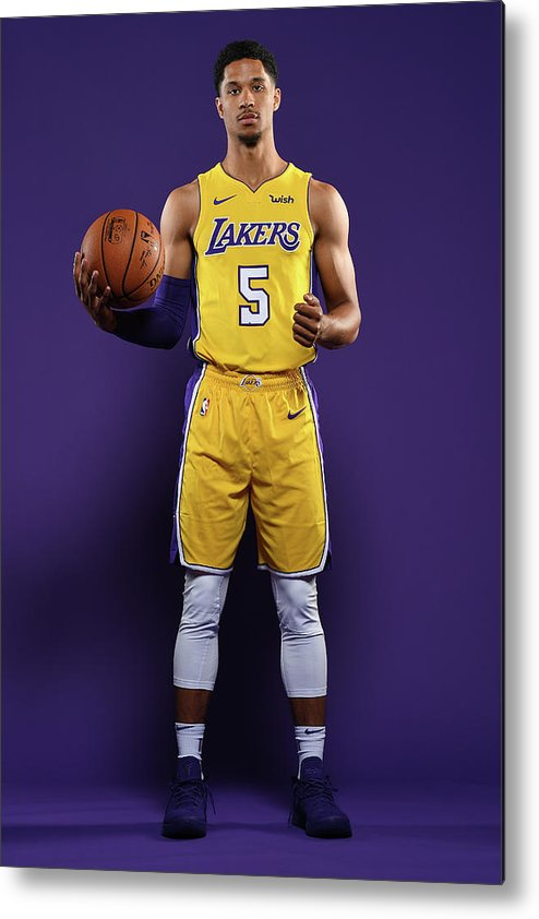 Media Day Metal Print featuring the photograph Josh Hart by Aaron Poole