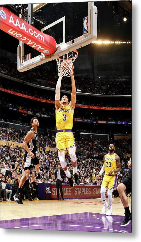 Nba Pro Basketball Metal Print featuring the photograph Josh Hart by Andrew D. Bernstein