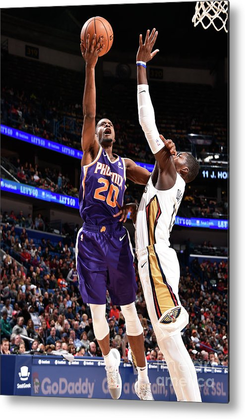 Smoothie King Center Metal Print featuring the photograph Josh Jackson by Bill Baptist