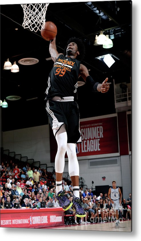 Nba Pro Basketball Metal Print featuring the photograph Josh Jackson by David Dow