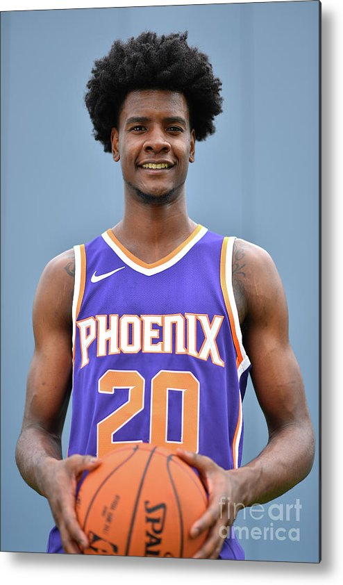 Nba Pro Basketball Metal Print featuring the photograph Josh Jackson by Jesse D. Garrabrant
