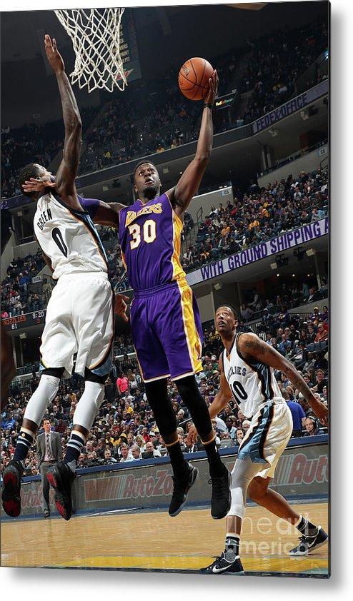 Nba Pro Basketball Metal Print featuring the photograph Julius Randle by Joe Murphy