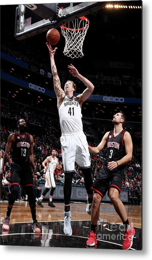 Nba Pro Basketball Metal Print featuring the photograph Justin Hamilton by Nathaniel S. Butler