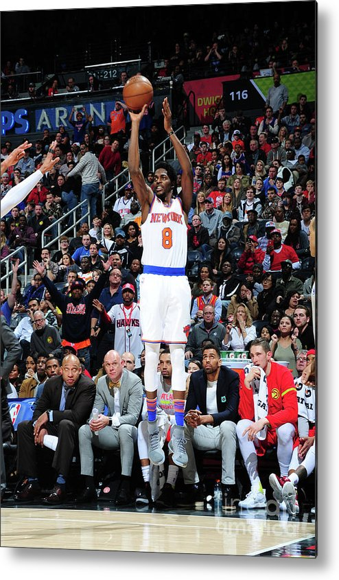 Atlanta Metal Print featuring the photograph Justin Holiday by Scott Cunningham