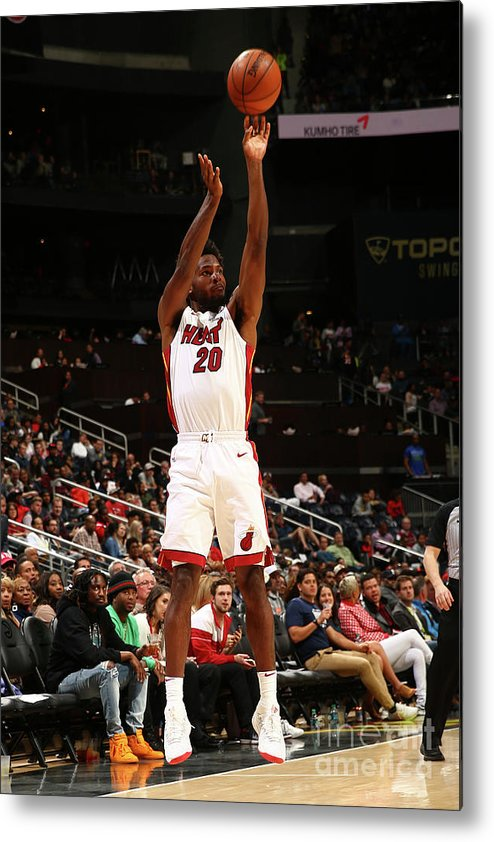 Atlanta Metal Print featuring the photograph Justise Winslow by Kevin Liles