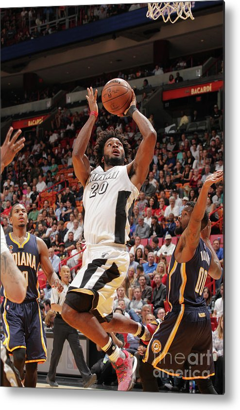 Justise Winslow Metal Print featuring the photograph Justise Winslow by Oscar Baldizon