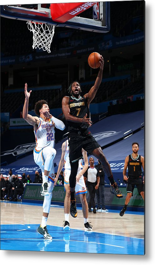 Justise Winslow Metal Print featuring the photograph Justise Winslow by Zach Beeker