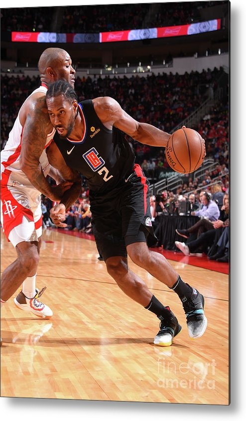 Nba Pro Basketball Metal Print featuring the photograph Kawhi Leonard by Bill Baptist