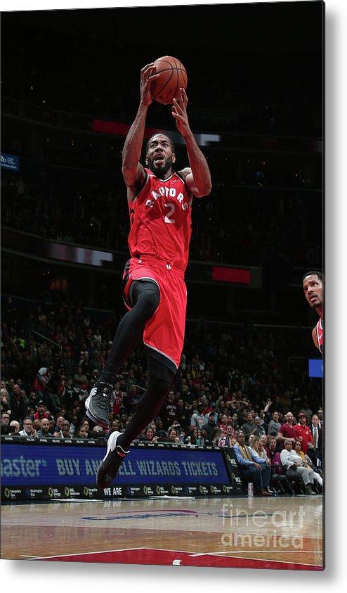 Nba Pro Basketball Metal Print featuring the photograph Kawhi Leonard by Ned Dishman