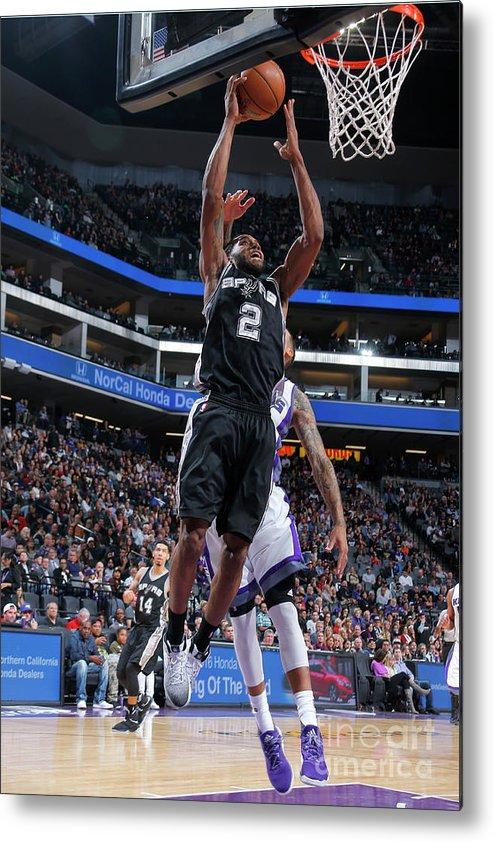 Nba Pro Basketball Metal Print featuring the photograph Kawhi Leonard by Rocky Widner