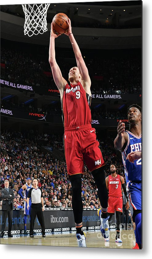 Nba Pro Basketball Metal Print featuring the photograph Kelly Olynyk by Jesse D. Garrabrant