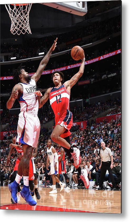 Nba Pro Basketball Metal Print featuring the photograph Kelly Oubre by Andrew D. Bernstein