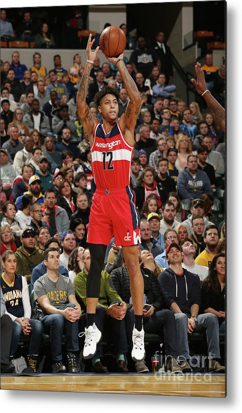 Nba Pro Basketball Metal Print featuring the photograph Kelly Oubre by Gary Dineen