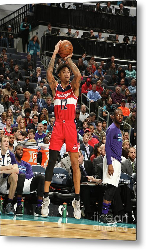 Nba Pro Basketball Metal Print featuring the photograph Kelly Oubre by Kent Smith