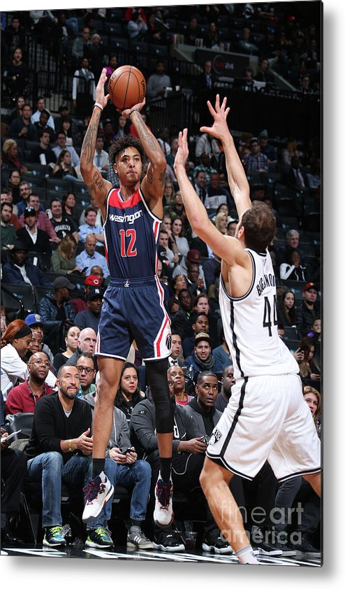 Nba Pro Basketball Metal Print featuring the photograph Kelly Oubre by Nathaniel S. Butler