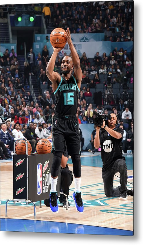 Kemba Walker Metal Print featuring the photograph Kemba Walker by Andrew D. Bernstein