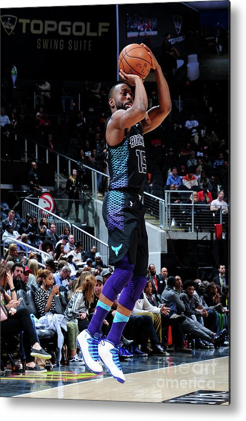 Atlanta Metal Print featuring the photograph Kemba Walker by Scott Cunningham