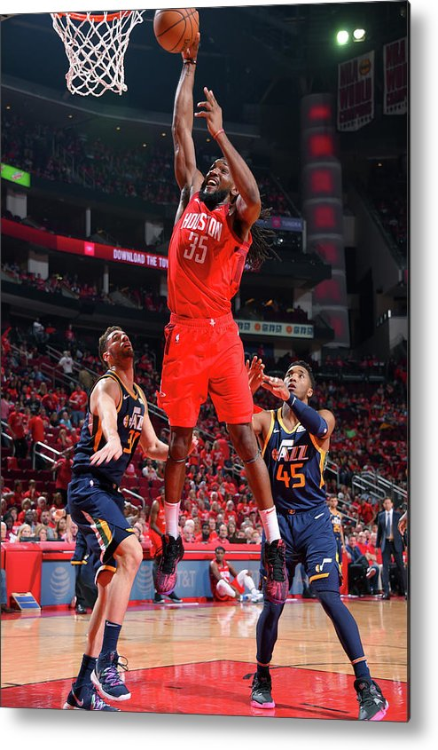 Playoffs Metal Print featuring the photograph Kenneth Faried by Bill Baptist