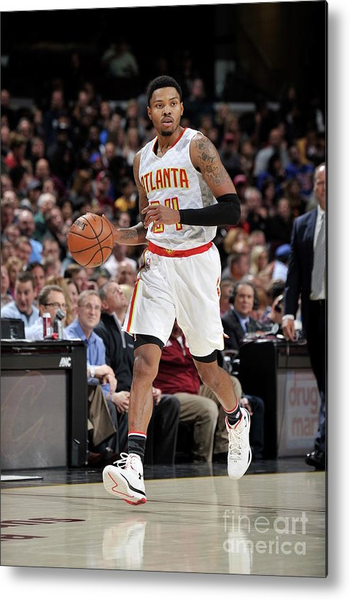 Nba Pro Basketball Metal Print featuring the photograph Kent Bazemore by David Liam Kyle