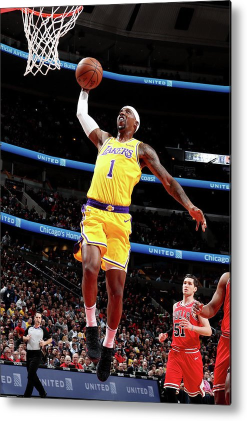 Nba Pro Basketball Metal Print featuring the photograph Kentavious Caldwell-pope by Nathaniel S. Butler