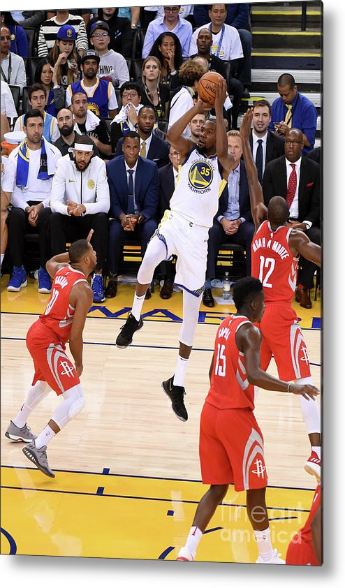 Nba Pro Basketball Metal Print featuring the photograph Kevin Durant by Adam Pantozzi