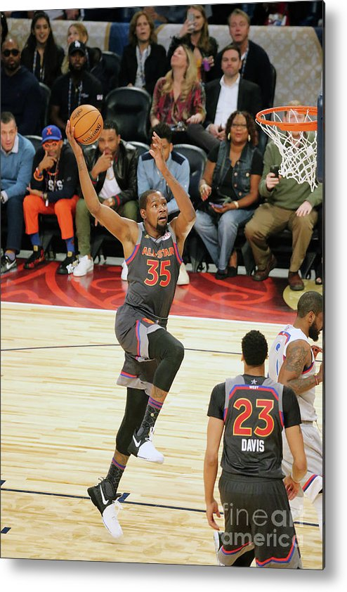 Event Metal Print featuring the photograph Kevin Durant by Bruce Yeung