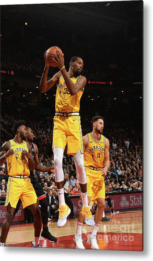Nba Pro Basketball Metal Print featuring the photograph Kevin Durant by Ron Turenne