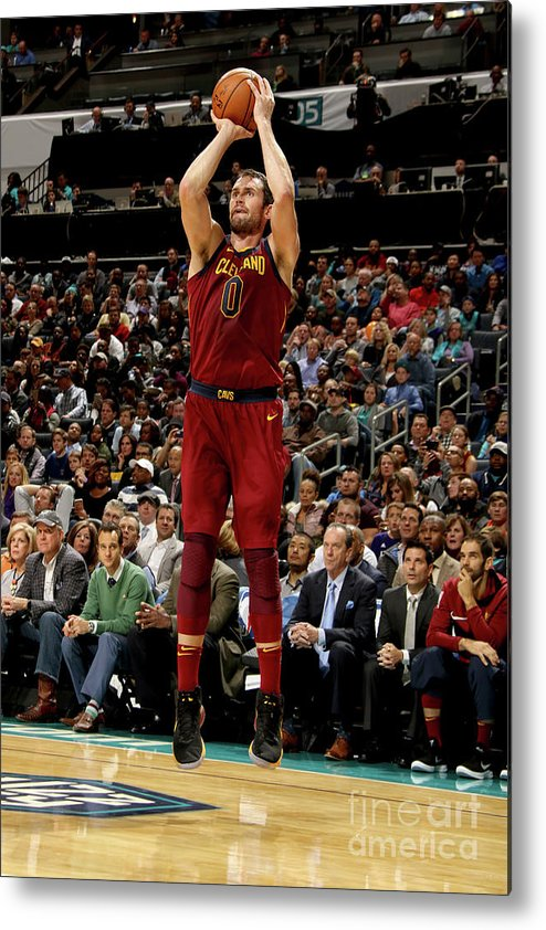 Nba Pro Basketball Metal Print featuring the photograph Kevin Love by Brock Williams-smith
