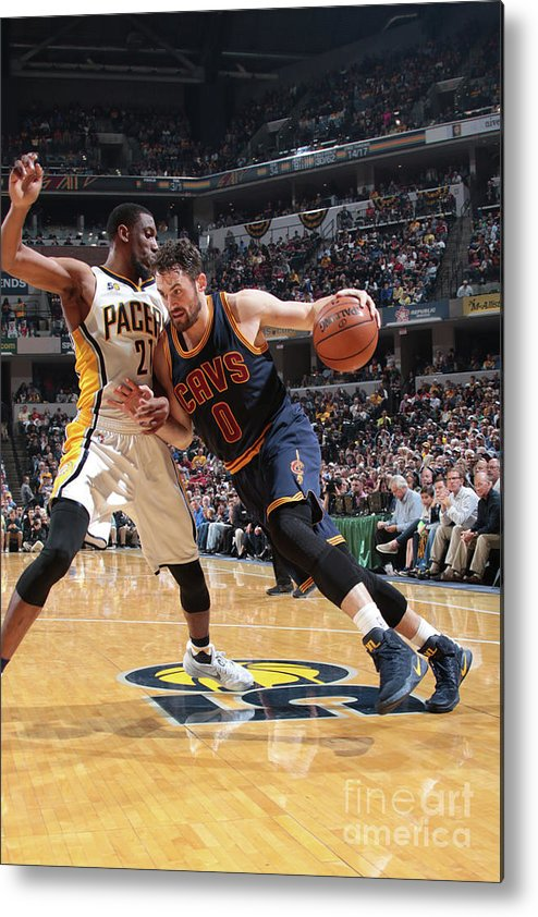 Playoffs Metal Print featuring the photograph Kevin Love by Ron Hoskins