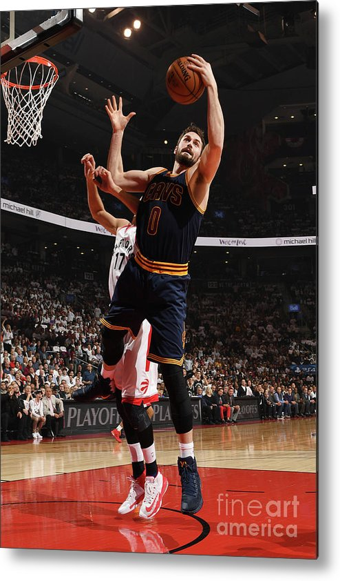 Playoffs Metal Print featuring the photograph Kevin Love by Ron Turenne